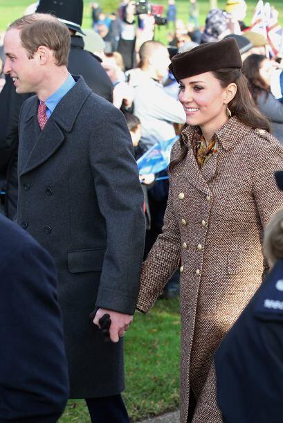 La duquesa de Cambridge desafió las reglas al no acudir a una tradiciona...