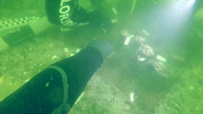 Descubren un cementerio de 7,000 años de antigüedad bajo el agua del Golfo de México
