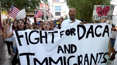Miles han protestado en EEUU desde que el presidente Trump eliminó el pr...