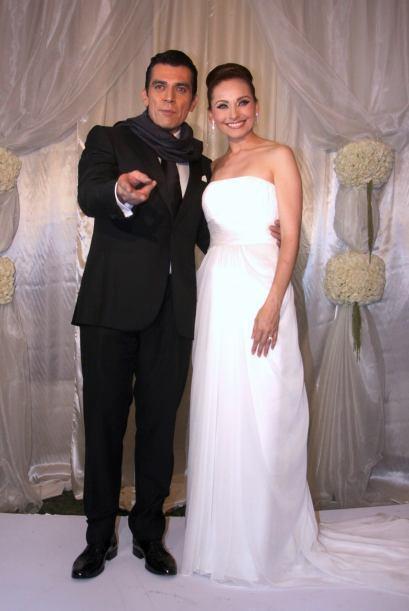 Jorge Salinas y Elizabeth Álvarez boda