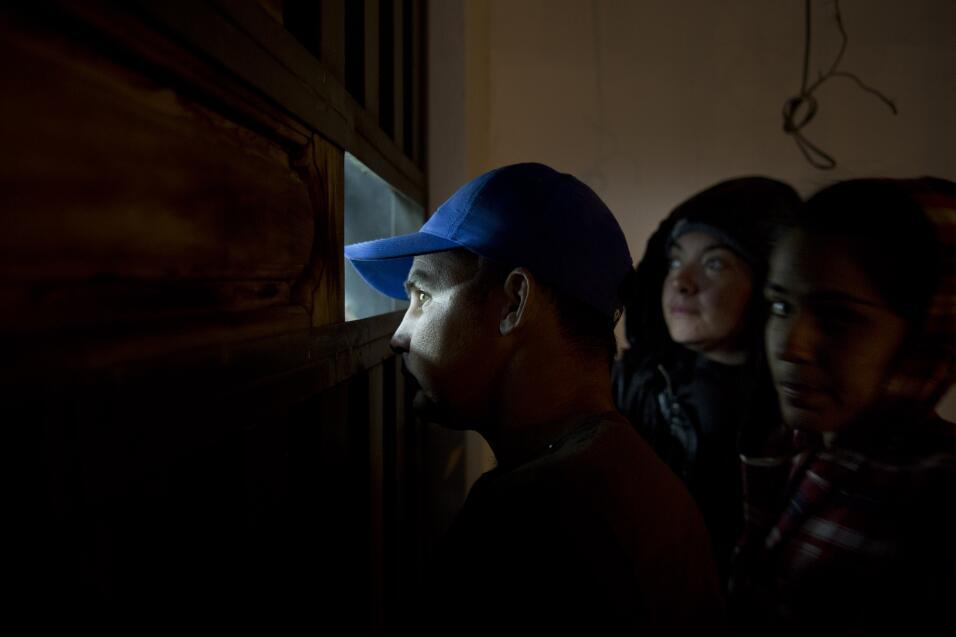 Los familiares de los deportados no tuvieron acceso a las audiencias de...