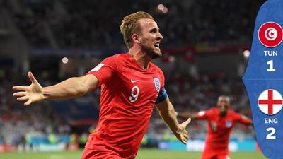 ¡Kane salve a la reina! Inglaterra derrotó a Túnez de último minuto