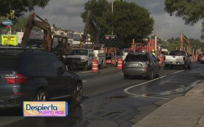 ¿En qué consisten los trabajos realizados entre las carreteras 199 y 840...