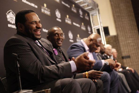 Junior Seau, Tim Brown, Jerome Bettis, Charles Haley, Will Shields, Bill...