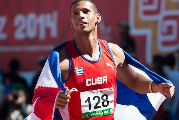 Dentro de la prueba del salto alto varonil, Cuba agregó otra pres...