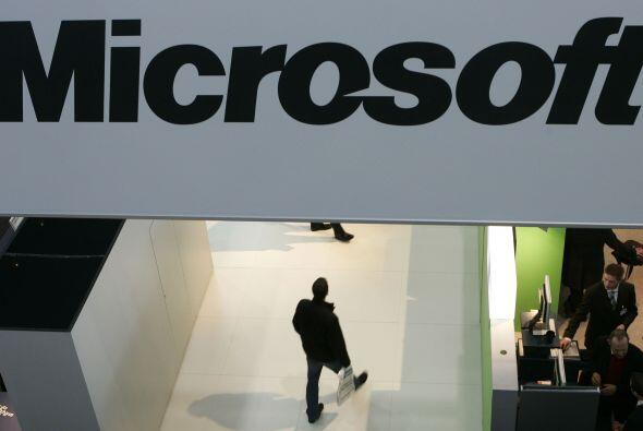 """MICROSOFT """" La empresa tecnológica avanzó desde el puesto 16 (obtenido e..."""