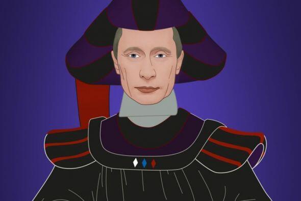 Aquí el presidente ruso Vladimir Putin como Frollo de El Jorobado de Not...