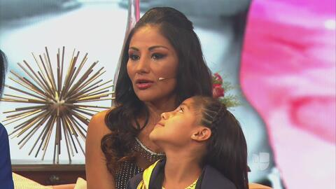 Natasha, la hija de Mariana 'La Barbie' Juárez, le dedicó unas bellas pa...