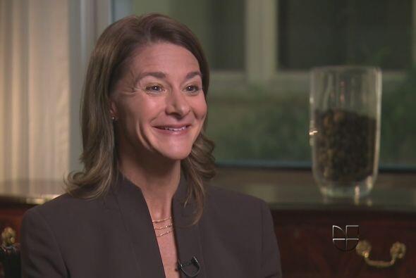 3.- MELINDA GATES: Tiene 49 años. Se dedica a la filantrop&iacute...