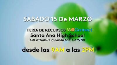 ¡Participa en la Feria de salud en Santa Ana, California!