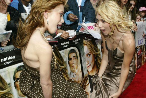 Mary Kate y Ashley Olsen son las primeras gemelas con una estrella en el...