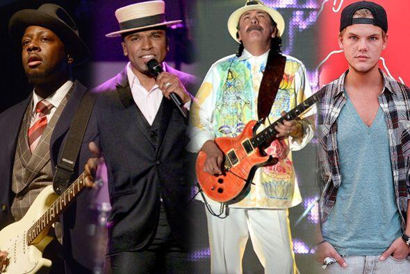 Carlos Santana, Avicii, Wyclef y Alexandre Pires serán los encargados de...