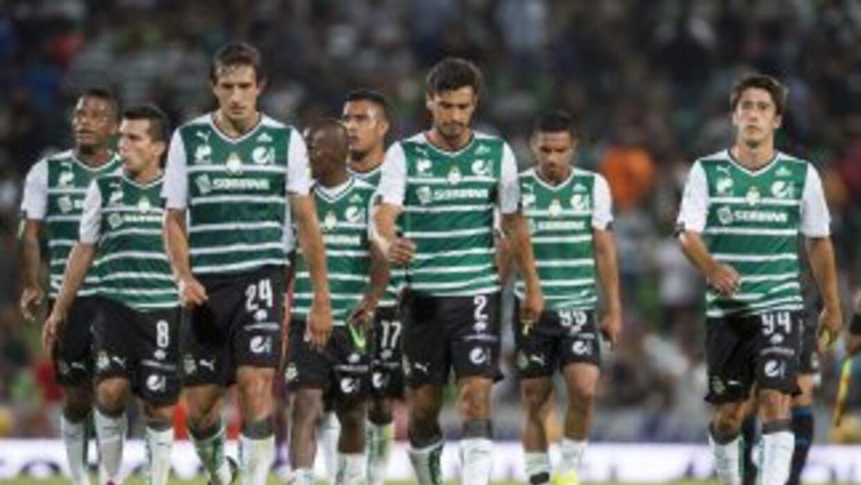 Santos Laguna en Copa MX.