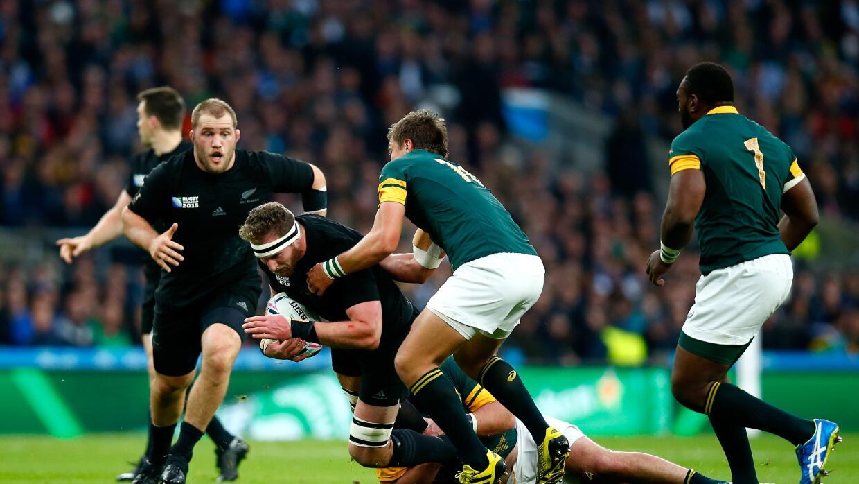 Los All Black de Nueva Zelanda ganaron a Sudáfrica