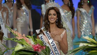 ¡Reina coronada! Mariana Jimenez es Miss Venezuela 2014
