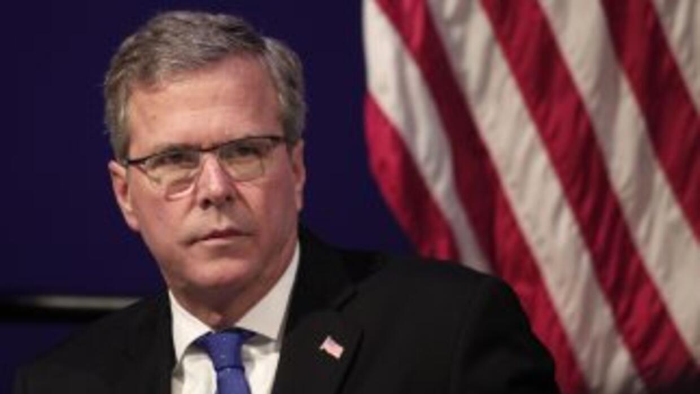 El ex gobernador del estado de Florida, Estados Unidos, Jeb Bush.