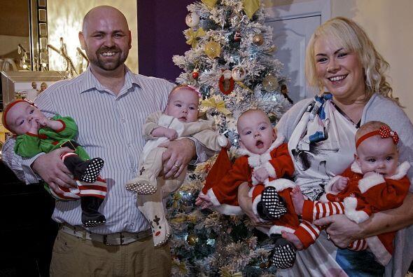 Sin duda nuestro querido Santa les dio 4 regalos muy especiales y no sól...
