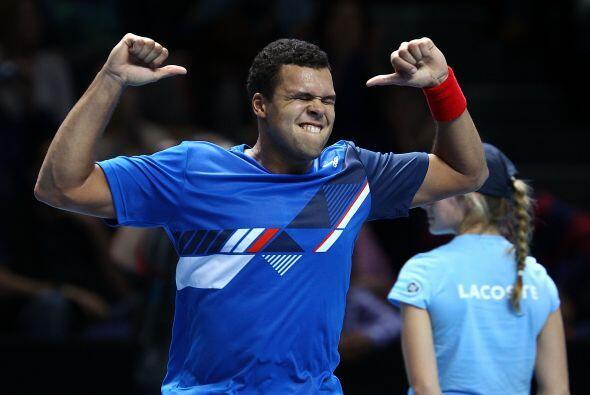 El francés había puesto en aprietos al suizo Roger Federer en la primera...