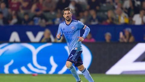 David Villa aseguró con su gol la victoria de NYCFC frente a LA Galaxy.