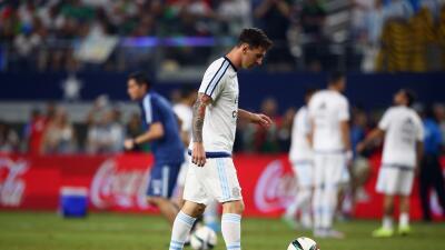 El vestidor de Argentina se quedó sin gua caliente