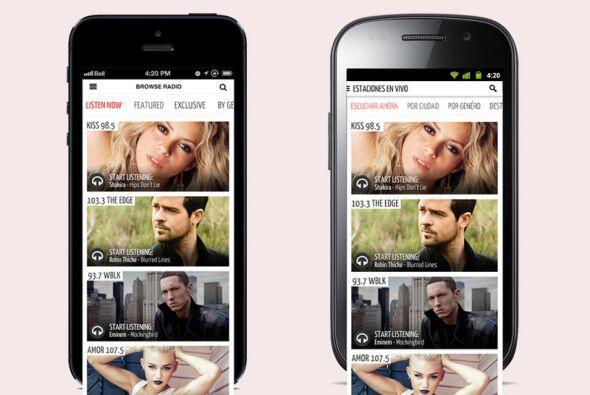 Cuando te conectas al Uforia App podrás escoger entre las canciones que...