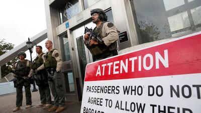 Alerta en el metro de Los Ángeles