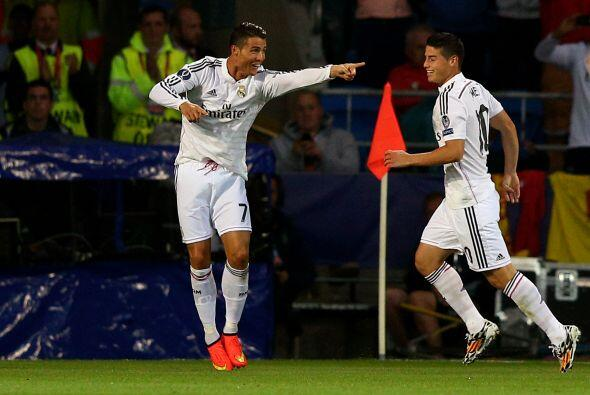 Real Madrid se acercaba aún más a la conquista de la Supercopa con dos g...