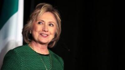 Hillary Clinton: 'Quiero ser su campeona'