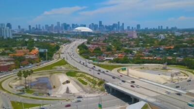 Desvíos y cambios por la implementación de un nuevo sistema de tránsito en la autopista 836
