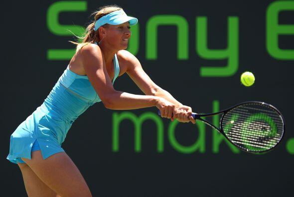 #9 La rusa María Sharapova con 3.726 puntos.