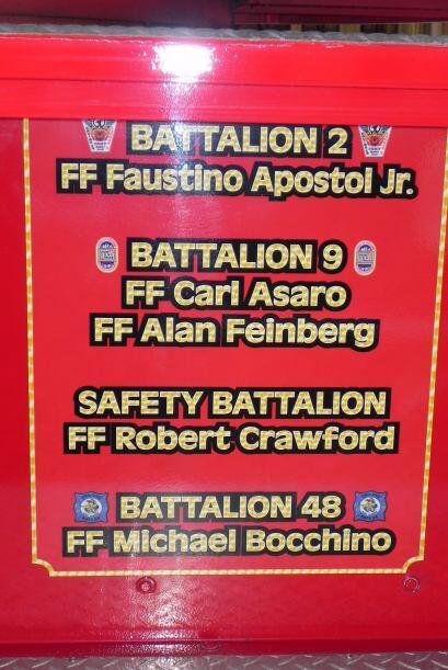 Carro bombero recuerda a sus caídos el 9/11 84f31793154c4693b6b9559664a4...