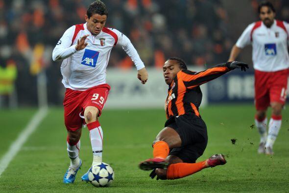 El Shakhtar Donetsk recibió al Braga de Portugal.