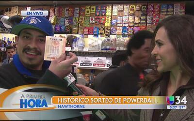 Angelinos viven la fiebre del Powerball