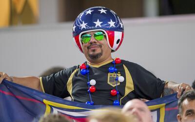 "El patriotismo estadounidense se hizo presente ante la ""Pura Vida&q..."