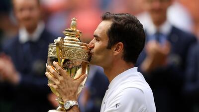 'Su Majestad', Roger Federer: Campeón en Wimbledon