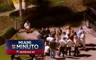 'Miami en un Minuto': policía de Sweetwater habla sobre el falso tiroteo...