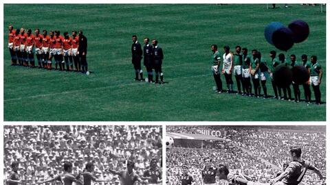México contra la URSS