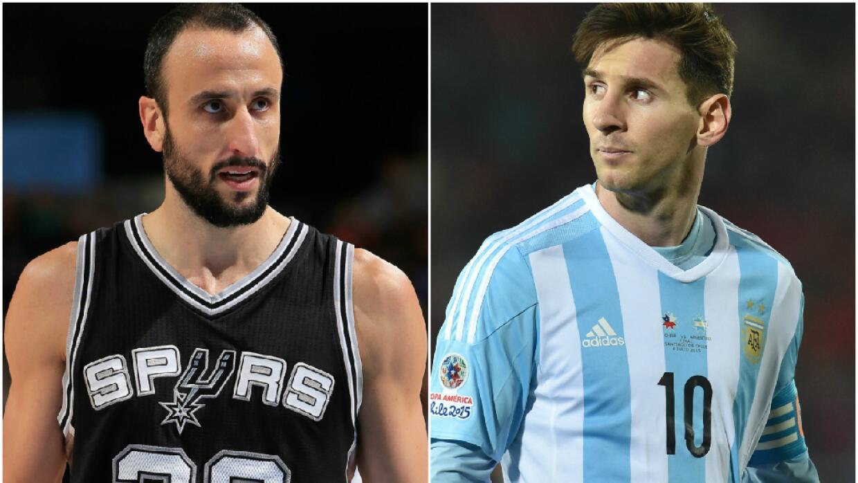 El basquetbolista dijo que un día el futbolista los mandará al carajo.