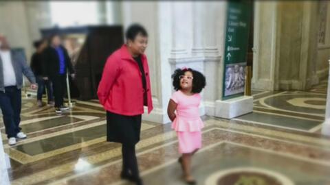 Daliyah Marie Arana, una pequeña de cuatro años que ha leído por lo meno...