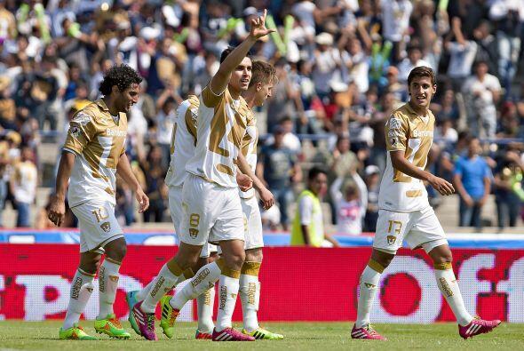 Y es que Pumas y Querétaro tienen la misma cantidad de puntos y apenas d...
