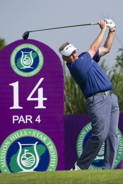 No podía faltar la leyenda del golf, el autraliano Greg Norman.