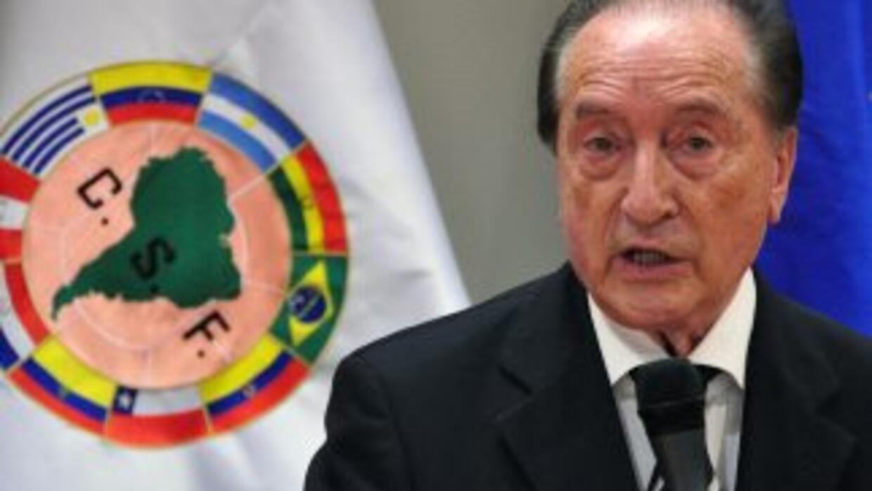 A través de su presidente, el uruguayo Eugenio Figueredo, Conmebol consi...