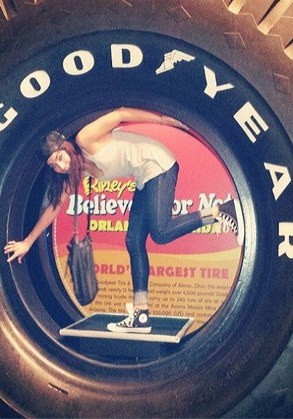 """This is going to be a #GOODYEAR"", compartió Alejandra..."