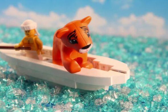 La historia de Pi y el Tigre que viajó en su bote, ¿Se te...