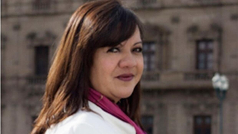 La periodista mexicana Patricia Mayorga.