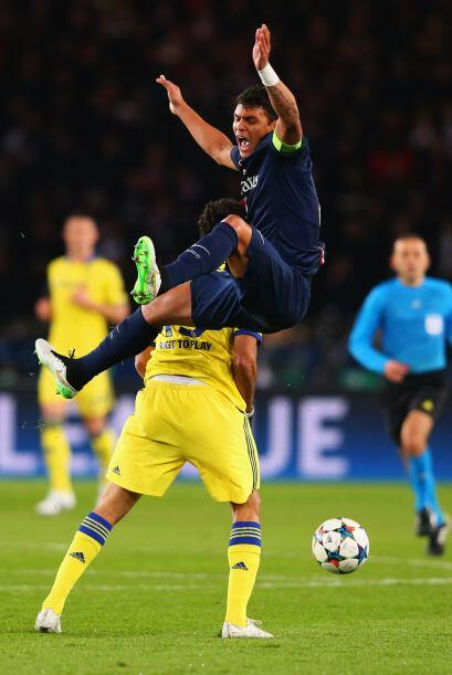 EL PSG logró rescatar el empate 1-1 ante el Chelsea en el Parque de los...