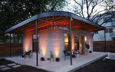 Casas hechas con una impresora 3D