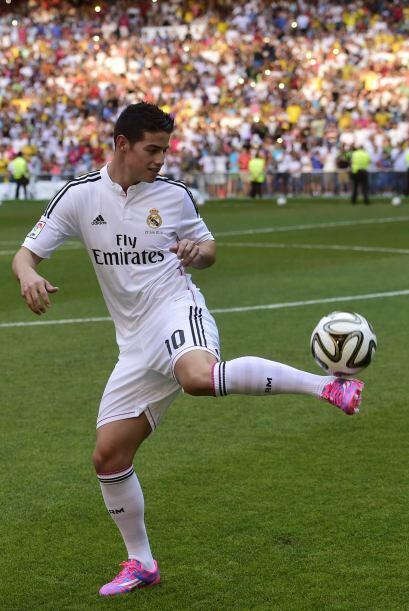 El Real Madrid tampoco tardó en hacerse con los servicios de Jame...