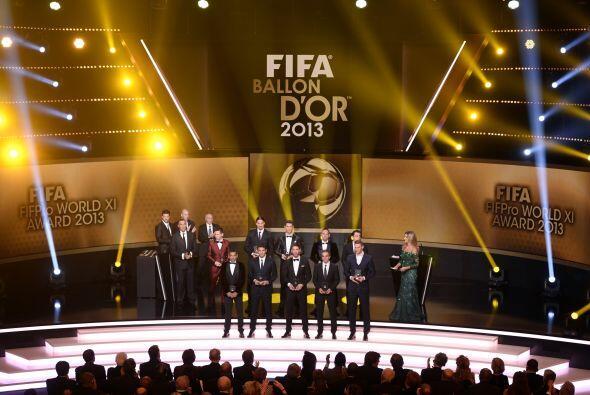 Imagen de todos los elegidos para formar parte del 11 ideal de la FIFA.