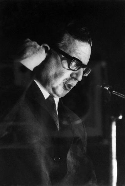 El presidente chileno Salvador Allende, primer marxista en llegar al pod...